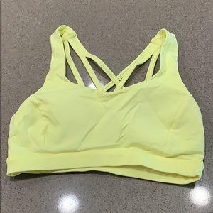 Lulu strappy sports bra